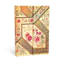 FILIGREE FLORAL IVORY MINI 2019 HOR,  Book