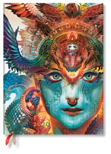 Dharma Dragon Ultra Vertical 2020 Diary, Diary Book