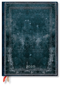 Midnight Steel Ultra Vertical 2020 Diary, Diary Book