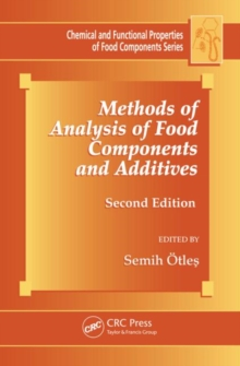 Methods of Analysis of Food Components and Additives, Second Edition, Hardback Book
