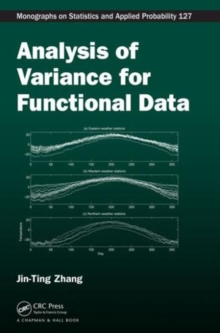 Analysis of Variance for Functional Data, Hardback Book