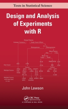 Design and Analysis of Experiments with R, Hardback Book