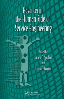 Advances in the Human Side of Service Engineering, Hardback Book
