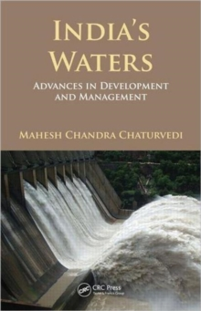 India's Waters : Advances in Development and Management, Hardback Book