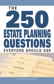 The 250 Estate Planning Questions Everyone Should Ask, EPUB eBook