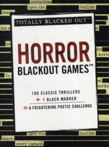 Horror Blackout Games, Paperback Book