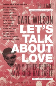 Let's Talk About Love : Why Other People Have Such Bad Taste, Paperback / softback Book