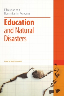 Education and Natural Disasters, Paperback / softback Book