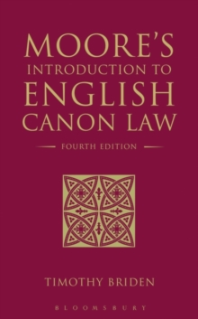 Moore's Introduction to English Canon Law : Fourth Edition, Paperback / softback Book