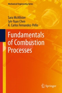 Fundamentals of Combustion Processes, Mixed media product Book