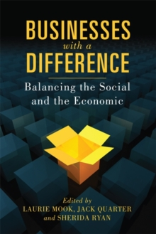 Businesses with a Difference : Balancing the Social and the Economic, Paperback / softback Book