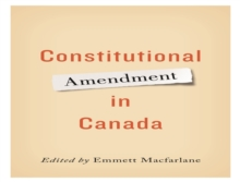 Constitutional Amendment in Canada, Paperback / softback Book