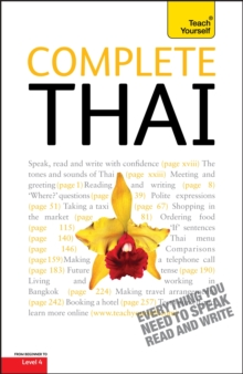 Complete Thai Beginner to Intermediate Course : Learn to Read, Write, Speak and Understand a New Language with Teach Yourself, Paperback Book