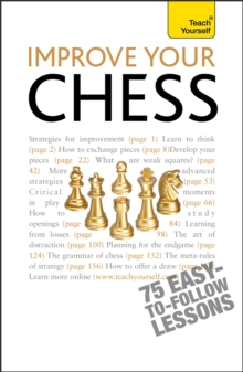 Improve Your Chess: Teach Yourself, Paperback / softback Book
