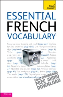 Essential French Vocabulary: Teach Yourself, Mixed media product Book