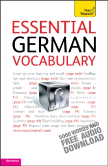 Essential German Vocabulary: Teach Yourself, Mixed media product Book