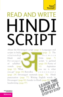 Read and write Hindi script: Teach Yourself, Paperback Book