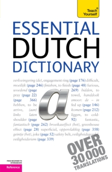 Essential Dutch Dictionary: Teach Yourself, Paperback / softback Book