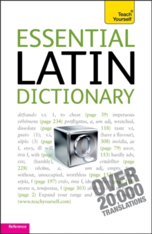 Essential Latin Dictionary: Teach Yourself, Paperback / softback Book