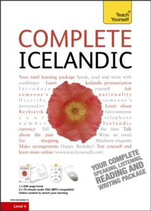 Complete Icelandic Beginner to Intermediate Book and Audio Course : Learn to Read, Write, Speak and Understand a New Language with Teach Yourself, Mixed media product Book