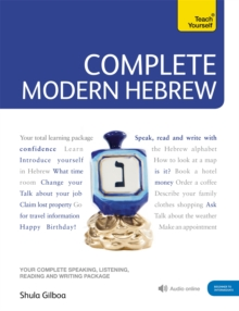 Complete Modern Hebrew Beginner to Intermediate Course : (Book and audio support), Mixed media product Book