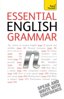 Essential English Grammar : An in-depth guide to modern English grammar, Paperback Book