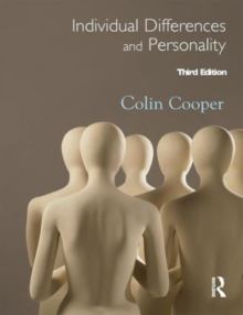 Individual Differences and Personality, Paperback / softback Book