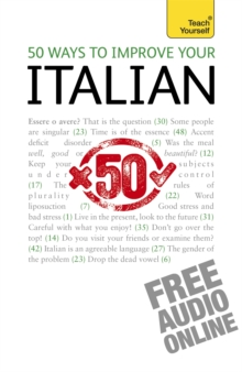 50 Ways to Improve Your Italian: Teach Yourself, Mixed media product Book