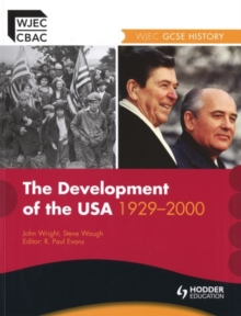WJEC GCSE History: The Development of the USA 1930-2000, Paperback Book