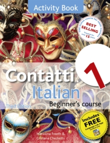 Contatti 1 Italian Beginner's Course 3rd Edition : Activity Book, Paperback / softback Book