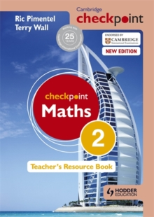 Cambridge Checkpoint Maths Teacher's Resource Book 2, Hardback Book