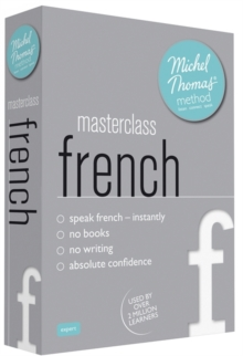 Masterclass French (Learn French with the Michel Thomas Method), CD-Audio Book
