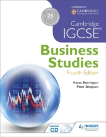 Cambridge IGCSE Business Studies 4th edition, Paperback Book