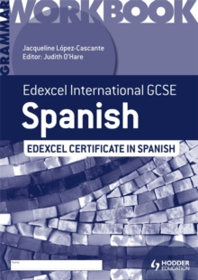 Edexcel International GCSE and Certificate Spanish Grammar Workbook, Paperback Book
