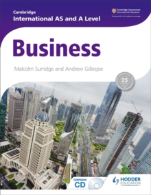 Cambridge International AS and A Level Business, Paperback Book