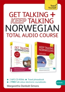 Get Talking and Keep Talking Norwegian Total Audio Course : (Audio pack) The essential short course for speaking and understanding with confidence, CD-Audio Book