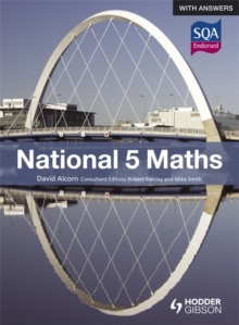 National 5 Maths with Answers, Paperback Book