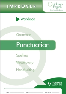 Quickstep English Workbook Punctuation Improver Stage, Paperback Book