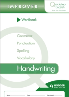 Quickstep English Workbook Handwriting Improver Stage, Paperback Book