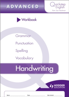 Quickstep English Workbook Handwriting Advanced Stage, Paperback / softback Book