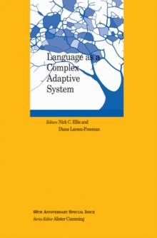 Language as a Complex Adaptive System, Paperback Book