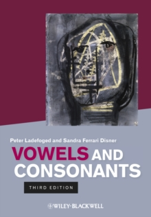 Vowels and Consonants, Paperback / softback Book