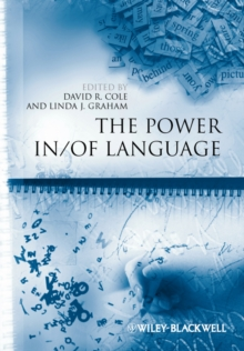 The Power In / Of Language, Paperback / softback Book