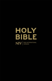NIV Holy Bible - Anglicised Black Gift and Award, Paperback Book