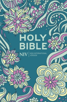 NIV Pocket Floral Hardback Bible, Hardback Book