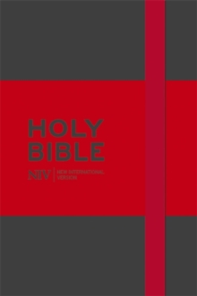 NIV Pocket Grey Notebook Bible, Hardback Book