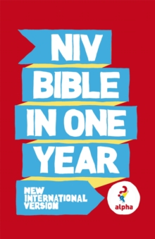 NIV Alpha Bible In One Year, Paperback / softback Book