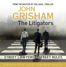 The Litigators, CD-Audio Book