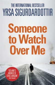 Someone to Watch Over Me : Thora Gudmundsdottir Book 5, Paperback Book