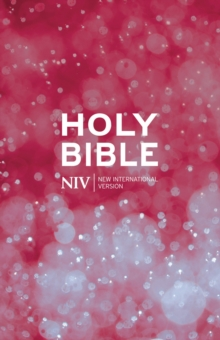 NIV Thinline Cloth Bible, Paperback Book